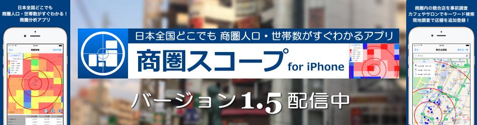 商圏スコープ告知 1.5
